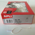 Price labels Apli with string